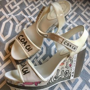 Coach - Poppy Wedge (Collectors) Sandals.